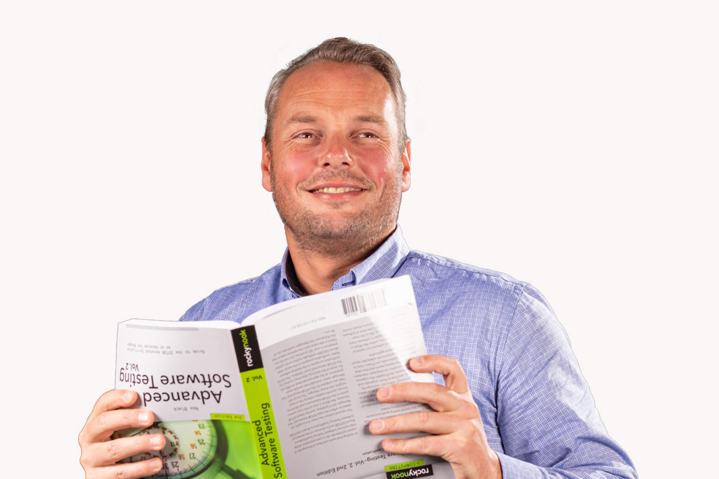Mattijs de test expert van Concept7