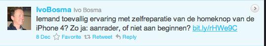Ivo heeft getwittert